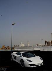 Mclaren MP4-12C exterior front (@GLTSA Over a million views) Tags: auto white cars car canon photography photo nikon exterior image photos interior images mclaren saudi autos jeddah rim rims saudiarabia iphone mp412c