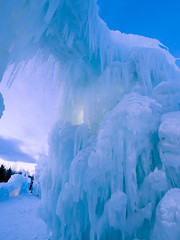 Ice Castles (Arina Habich) Tags: blue winter white tower ice nature water frozen colorado dynamic tunnel structure formation massive february icicles pathway winterwonderland 2012 silverthorne icecastles