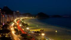 Work hard, Party harder (soundwave) Tags: ocean light beach rio brasil riodejaneiro night trails sugarloaf avenidaatlantica