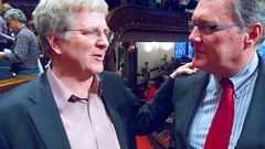 Rick Steves and Tim Hart-Andersen