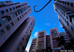 Building (娜 娜☂Nana) Tags: life sky building love nature backlight nikon skies taiwan 台灣 台灣taiwan i 我愛台灣 d7000