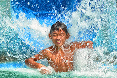 Water Park, Phnom Penh - No.1 Entertainment (Mio Cade) Tags: park boy water pool swim fun happy kid cambodia child joy entertainment enjoy splash phnom penh siha