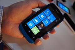Nokia Lumia 610 in hand
