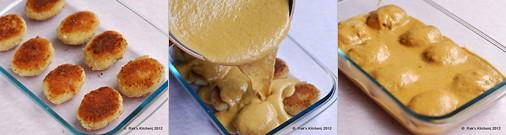 Paneer pasanda recipe step 6