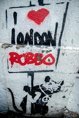 Banksy (dprezat) Tags: banksy rat robbo londres london england uk streetart street art graf tag pochoir stencil peinture aérosol bombe urban nikond800 nikon d800