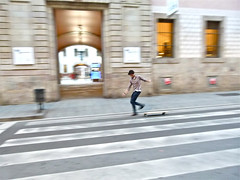 BARCELONA: CCCB, FEBRERO 2012 (Bocngel (Jorge Navarro)) Tags: barcelona movement skating movimiento skate jove joven cccb bcb pasocebra