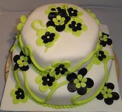Fdselsdagskage (Kageting.dk) Tags: flower cake weddingcake modelling kage fondant fdselsdagskage bryllupskage gumpasteflower sugarmodelling
