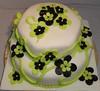 Fødselsdagskage (Kageting.dk) Tags: flower cake weddingcake modelling kage fondant fødselsdagskage bryllupskage gumpasteflower sugarmodelling