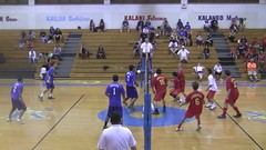 3 Kailua vs Roosevelt Volleyball (click2ed Photos) Tags: school hawaii high roosevelt volleyball kaiser rough riders kailua surfriders