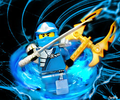 Ninjago Jay! (chrisofpie) Tags: blue chris project pie toy toys jay lego ninja lol legos sword brave lightning twister minifigure minifigures stunningphotography ninjago spinjutsu