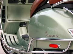 Rear Left (Antiporda Productions) Tags: vespa scooter 2009 topcase portofinogreen crashguard gtv250ie