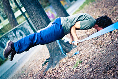   Slack.Life   #2 (Federico Ravassard) Tags: parco sport canon torino bokeh line slack 18 50 federico parkour slackline gibbon michelotti 550d ravassard