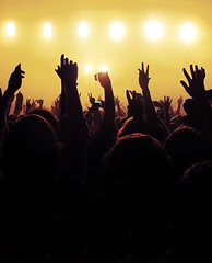 Justice Crowd (preynolds) Tags: justice concert birmingham audience gig crowd livemusic handsup yellowlights † stagelights o2academy