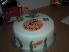 Becca's 16 (ailsasyl) Tags: cake john hearts stars paul star george duck harrison purple drum turtle butterflies beatles dots lennon ringo mcartney sugarpaste