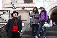 people in Montmartre