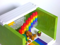 CMF Habitat S6-9 - Leprechaun (DarthNick) Tags: 6 gold rainbow apartment lego display pot condo series minifig collectible habitat leprechaun minifigure cmf