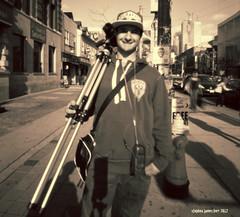 Bronica (StephenKerrPhotography) Tags: blackandwhite toronto streetphotography pinhole fujiacross100 zeroimage612b