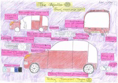 Katie Walker 10-12 4th (Toyota UK) Tags: uk art children drawing contest competition future toyota 2012 dreamcar