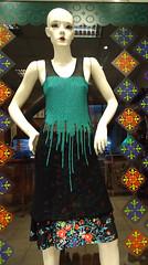 * serie pintados * vestido (plyades-ropa tejida) Tags: color thread dress silk cotton seda ropa vestido algodon pintado tejida pleyades