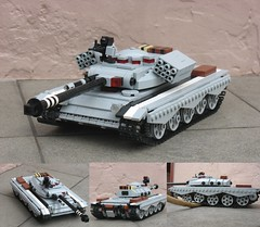 Pacific Union MT-7 Fairweather (Awesome-o-saurus) Tags: tank lego pacificunion