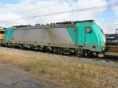 NMBS Cargo 2806 te Kijfhoek - 19 februari 2012 (Corn-ZW1993) Tags: 1600 2012 februari traxx nmbs kijfhoek