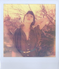 (Lou O' Bedlam) Tags: amanda los angeles echopark polaroid680 12912 louobedlam lounoble impossibleprojectpx680film