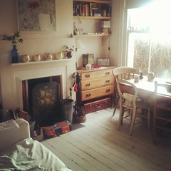 Back Room (philippastanton) Tags: home fireplace ceramics