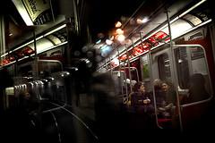 TTC (Saman Aghvami) Tags: toronto reflection subway ttc