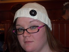 Jessie in Button Tab Hat