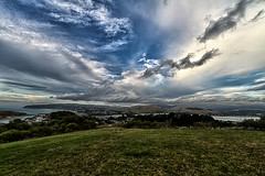 Wonderful clouds over the suburbs - New Zealand - (Explored)