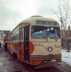 19660226 02 PAT PCC Pittsburgh, PA (davidwilson1949) Tags: pittsburgh pennsylvania pat transit streetcar pcc