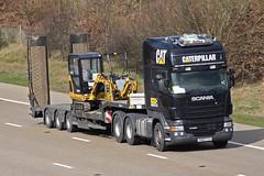 Scania R480 PN60 CVV (gylesnikki) Tags: black caterpillar artic scania r480