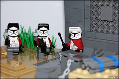 Mission 4 - The old Storehouse - Clones (n7mereel) Tags: old trooper window wall canon out eos star al cool all lego unique 4 helmet over tan s 18th dk april mission shock torso cracker wars clone storehouse visor commander commando arealight mereel bley 60d n7mereel