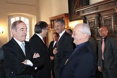 Neujahrswünsche des Staatsrats an die Walliser Behörden (Kanton Wallis) Tags: staatsrat neujahrswünsche kantonwallis clauderoch staatwallis