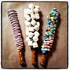 Candy Coated Pretzel Rods (LilDar) Tags: pretzels chocolatedipped
