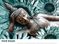 Mind Bloom (ancientartizen) Tags: buddha buddhist zenart artizen beikmann ancientartizen christopherbeikmann ancientartisan modernbuddhistart zenartwork