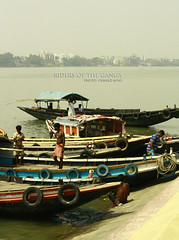 The Riders (Oswald King) Tags: color canon river boat kolkata ganga 2012 ganges dakshineswar 55250mm 1000d