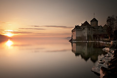 Chteau de Chillon (PhiiiiiiiL) Tags: sunset sun lake reflection castle water clouds de switzerland see nikon wasser sonnenuntergang swiss wolken lac national chillon leman reflexions sonne chteau geographic wasserburg burg reflektion montreux vaud langzeitbelichtung d300 genfersee waadt nd3 mygearandme mygearandmepremium mygearandmebronze mygearandmesilver mygearandmegold mygearandmeplatinum mygearandmediamond rememberthatmomentlevel4 rememberthatmomentlevel1 rememberthatmomentlevel2 rememberthatmomentlevel3 rememberthatmomentlevel7 rememberthatmomentlevel9 rememberthatmomentlevel5 rememberthatmomentlevel6 rememberthatmomentlevel8 rememberthatmomentlevel10