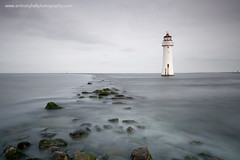 Perch Rock Lighthouse (Azzmataz) Tags: new lighthouse rock photography hall brighton long exposure perch anthony wallesey c2012 wwwanthonyhallphotographycom