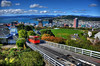 Wellington Cable Car and City (wiifm) Tags: gardens botanic