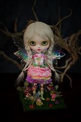 Flore #14 custom blythe