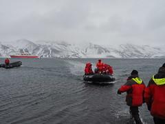Antarctica, Deception Island (Dan Cosmin) Tags: blue sun ice water penguins kayak outdoor antarctica seal kayaking whale iceberg deceptionisland