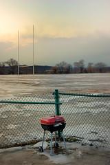 Fire Starter (tony_mateus) Tags: winter field football grill