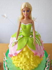 Abigail's Party (adrianarosati) Tags: birthday pink green bunnies yellow cake chocolate barbie fairy eggs adrianarosati