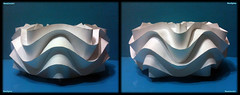 Curved Folding Paper (Ball Cylinder Star) / Reduced Curved 2/7 (NeoSpica / NeoLiveArt) Tags: sculpture ball star origami cut cylinder fold curve curved papier tessellation structural folding papercraft reduced curvedfold curvedfolding neoliveart neospica
