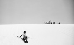 Sand Dune (m rizal) Tags: newcastle blackwhite sand au dune australia funday nsw downunder portstephen