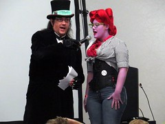 IMG_8356 (kennethkonica) Tags: costumes red people usa colors america canon fun midwest random indianapolis culture indy indiana indoor event persons global hoosiers canonpowershot marioncounty costumecontest horrorhound horrorhoundcostumecontest