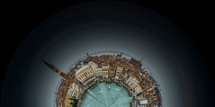 Venice Panorama Curved (Steve Muise) Tags: venice italy panorama water buildings planet wee vacations