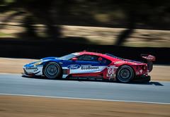 Ford GT Laguna Seca (Dennis Schrader Photography) Tags: california cars ford car racecar monterey cameras cinqueterre gt sportscar lagunaseca shotby imsa 2016 mazdaraceway d610 dennisschraderphotography 70200mm28tamron dennisschrader