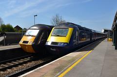 HST's at Bristol Parkway (sgp_rail) Tags: station train bristol great platform first rail railway class parkway western 43 hst gwr bpw fgw